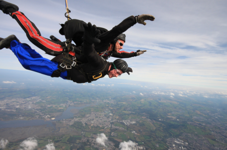 Falling back to earth for the Jubilee Appeal