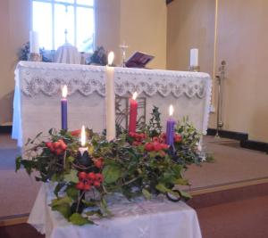 Narberth's Christmas Altar