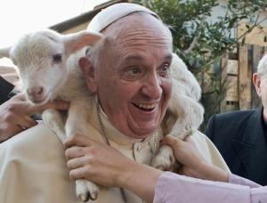 Pope Lamp