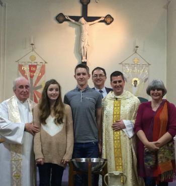 Baptism of Joe Moncrieff