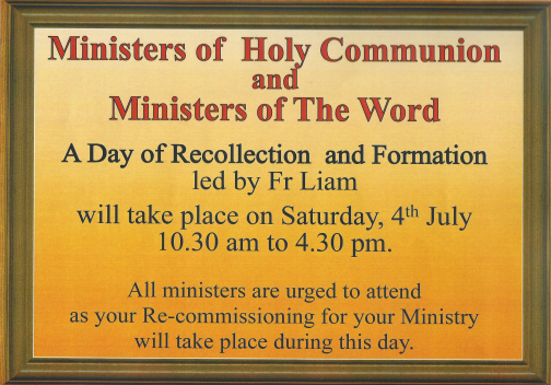 Ministers poster