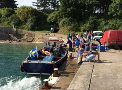 Boat to Caldey