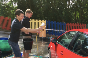 The Big Car Wash with the Beckett Brothers