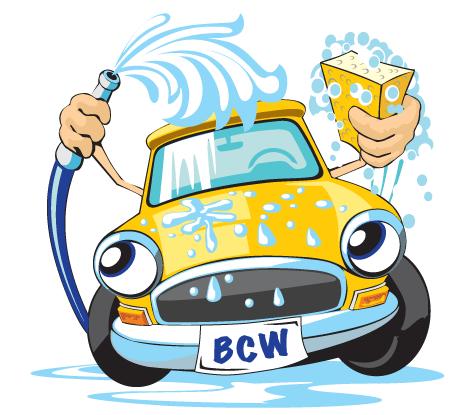 Car Wash on Catholic Christmas Clipart