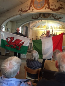 Wales and Italy together