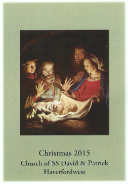 Christmas Mass Card